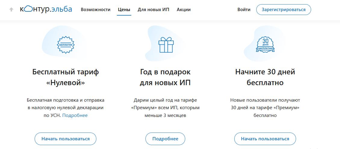 Онлайн-бухгалтерия Эльба