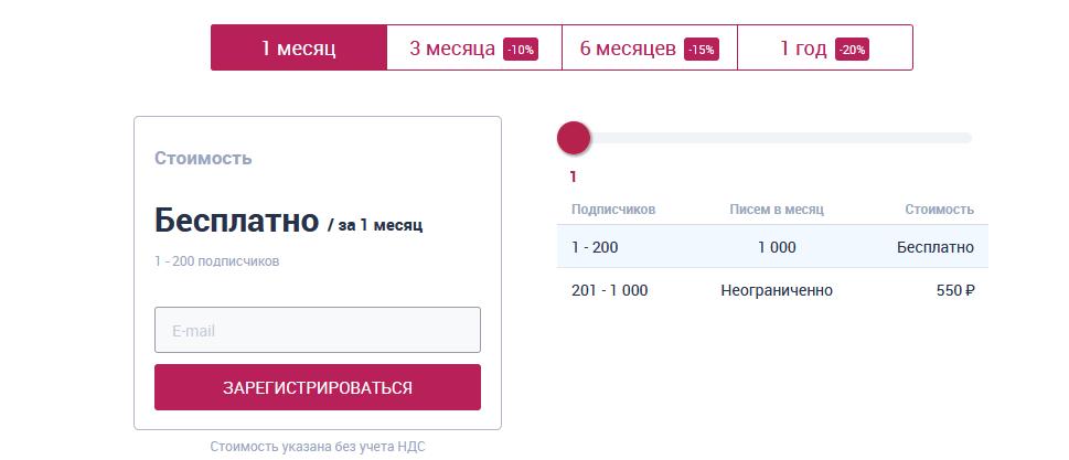 Сервис организации рассылки SendSay
