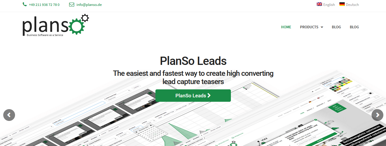 конструктор форм PlanSo