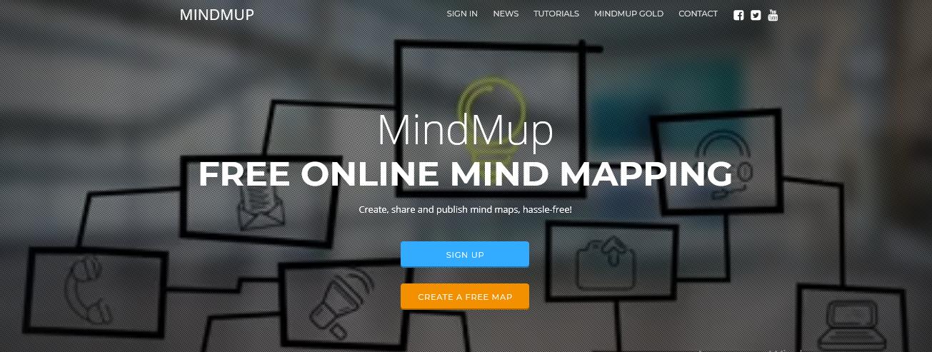 Сервис MindMup