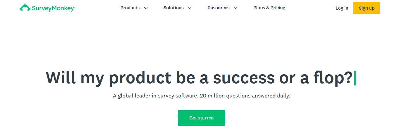 конструктор форм Survey Monkey