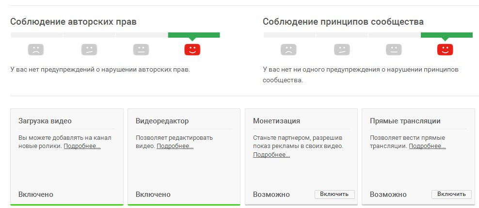 Соблюдение авторских прав и принципов сообщества в Youtube