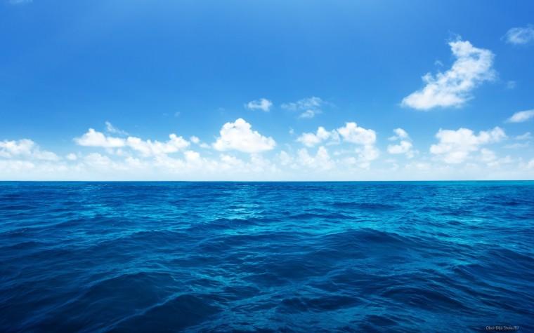 Исходное изображение моря