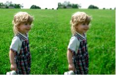 Как размыть фон в фотошопе